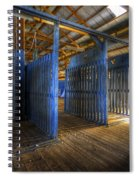 Woolshed Blues Spiral Notebook