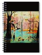 Wooodland Wonders Spiral Notebook