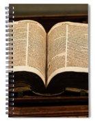 Word Of God Spiral Notebook