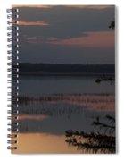 Worden's Pond Sunrise 2 Spiral Notebook