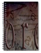 Words Are Only Words 2 Spiral Notebook