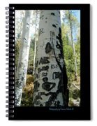 Words Written In The Trees 1 Spiral Notebook