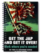Work Where You're Needed -- Ww2 Spiral Notebook