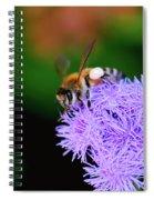 Worker Bee Spiral Notebook