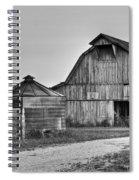Working Farm Barn And Storage Bin Spiral Notebook