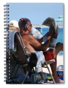 Working Hard Spiral Notebook