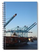 Working The Port Of New Orleans Spiral Notebook