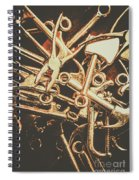 Workshop Abstract Spiral Notebook