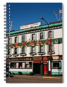 World Famous Alaska Hotel Spiral Notebook