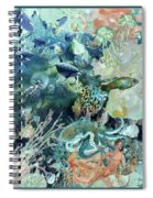 World In The Sea Spiral Notebook