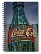 World Of Coca Cola Spiral Notebook
