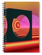 World Of The Dragonfly Spiral Notebook