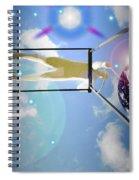 World On A String Spiral Notebook