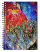 World On Display Spiral Notebook