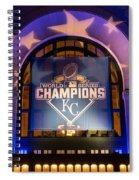 World Series Champs Spiral Notebook