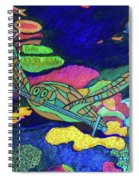 World Turle Knight Of Swords Spiral Notebook