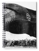 World War I: Airship Spiral Notebook