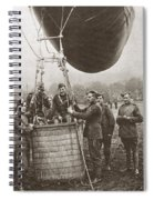 World War I: Balloon Spiral Notebook