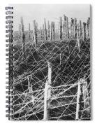World War I Barbed Wire Spiral Notebook