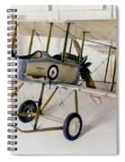 World War I: British Plane Spiral Notebook