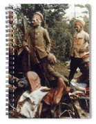 World War I: French Troops Spiral Notebook