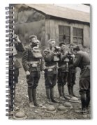 World War I: Gas Masks Spiral Notebook