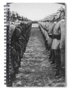 World War I: German Troop Spiral Notebook