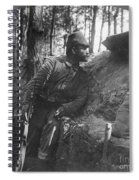 World War I: Soldier Spiral Notebook