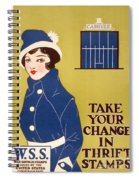 World War I: Thrift Stamps Spiral Notebook