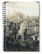 World War I: Verdun Ruins Spiral Notebook