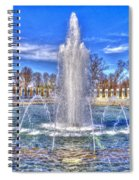 World War II Memorial Spiral Notebook
