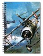 World War One Dogfight Spiral Notebook