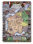 World War One Historian's Panel Spiral Notebook