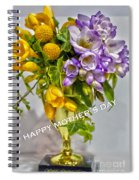 World's Greatest Mom Mother's Day Card Spiral Notebook