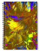 Wormhole Channel Spiral Notebook