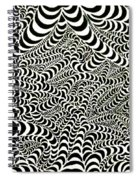 Wormholes Spiral Notebook