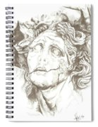 Worn Face Spiral Notebook