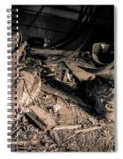 Worn In Spiral Notebook