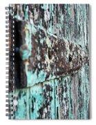 Worn Spiral Notebook
