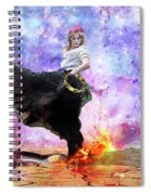 Worship Warrior Spiral Notebook