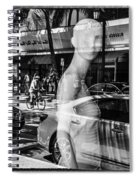Worth Ave Reflections 0484 Spiral Notebook