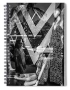 Worth Ave Reflections 0487 Spiral Notebook
