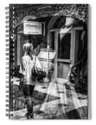 Worth Ave Reflections 0509 Spiral Notebook