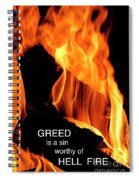 worthy of HELL fire Spiral Notebook