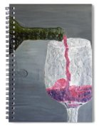 Would You Like A Glass Or Would You Mine If I Spiral Notebook