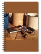 Would You Like A Little Pistol With Your Coffee Spiral Notebook