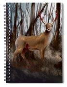 Wounded Wanderer Spiral Notebook