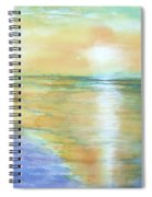 Wow Sunset Spiral Notebook