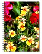 Wp Floral Study 1 2014 Spiral Notebook