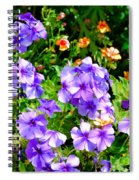 Wp Floral Study 2 2014 Spiral Notebook